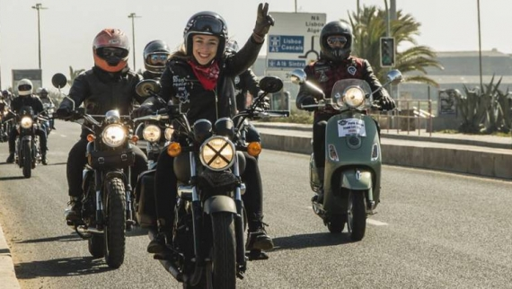 We Ride Lisbon realiza passeio de motos até ao Salão Motorclássico